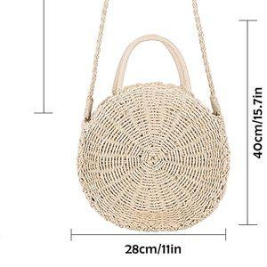 Handbags - Bamboo Straw Purse
